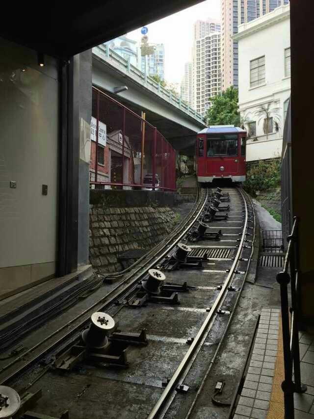 香港太平山顶!