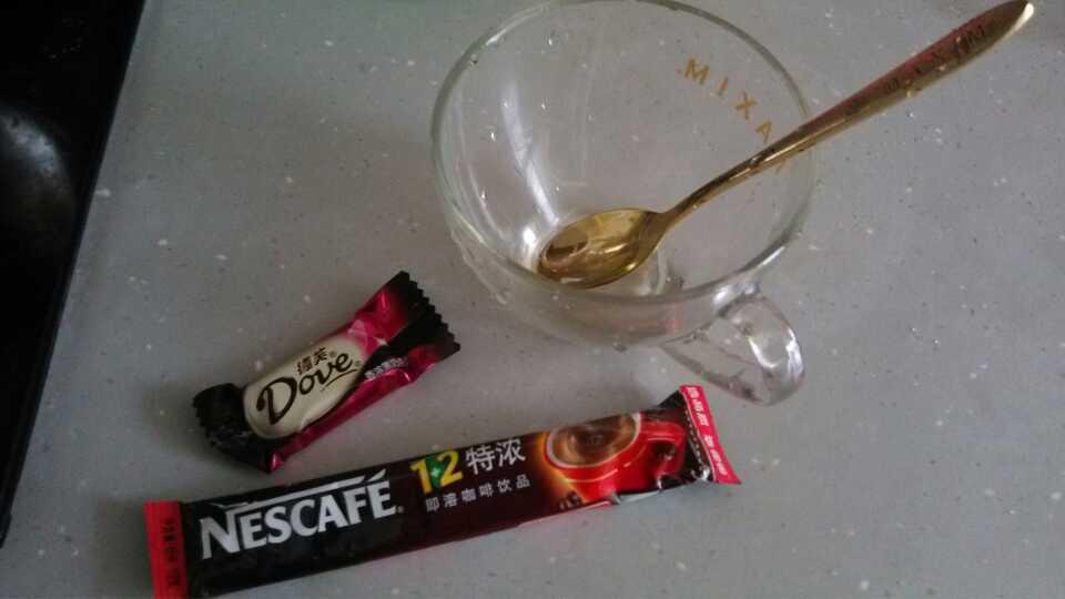 自制黑巧克力咖啡!