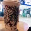 吃完火锅喝杯咖啡,暖暖的,待会儿回家又会被冻死……