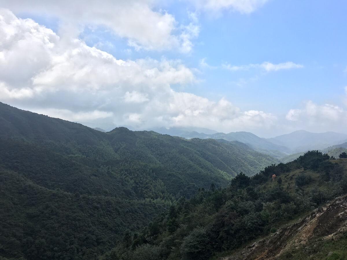 郴州有个仰天湖,曲折山路十八弯,上山下山车费劲,来来回回人紧张。