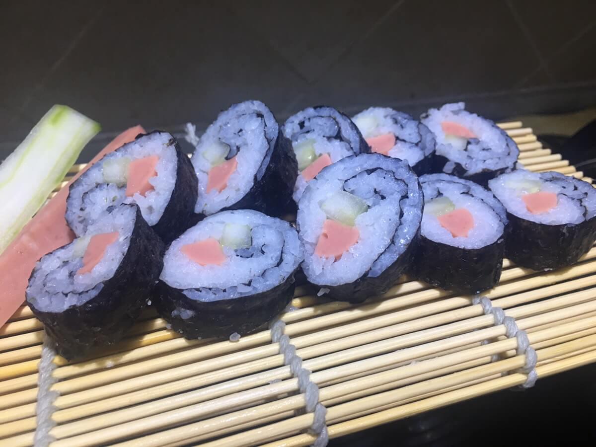 自制寿司欢乐多……