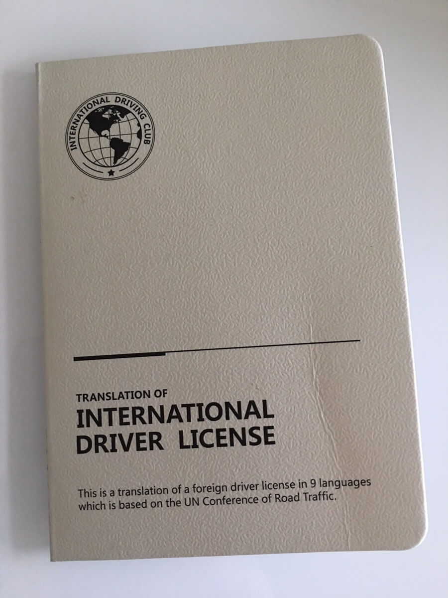 国际驾照拿到了,在国外可以租车自驾游啦!哈哈……