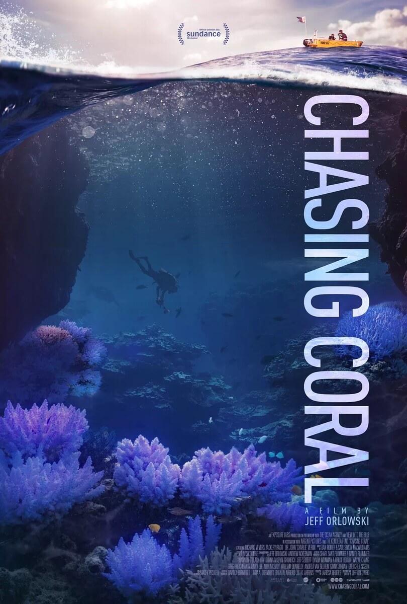 看了一部不错的纪录片《追逐珊瑚》