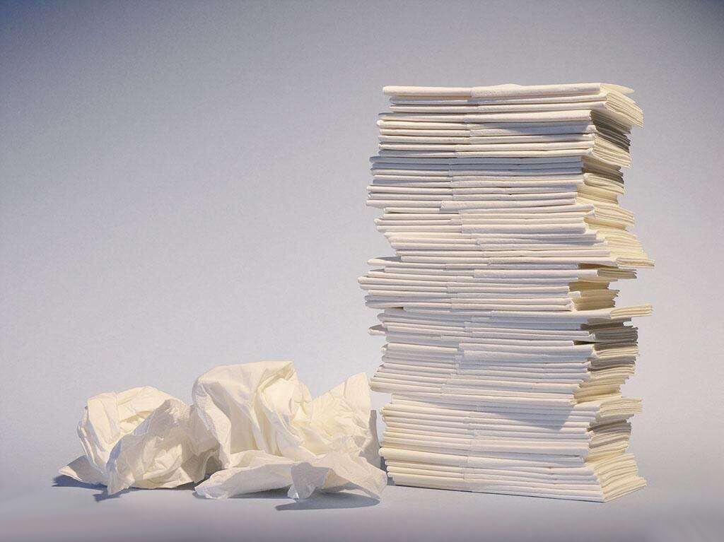 感冒一个人在家,伤……纸!