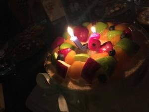 祝自己生日快乐!