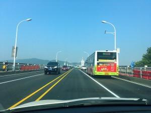 橘子洲大桥终于修好了