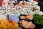 好久没吃寿司啦!