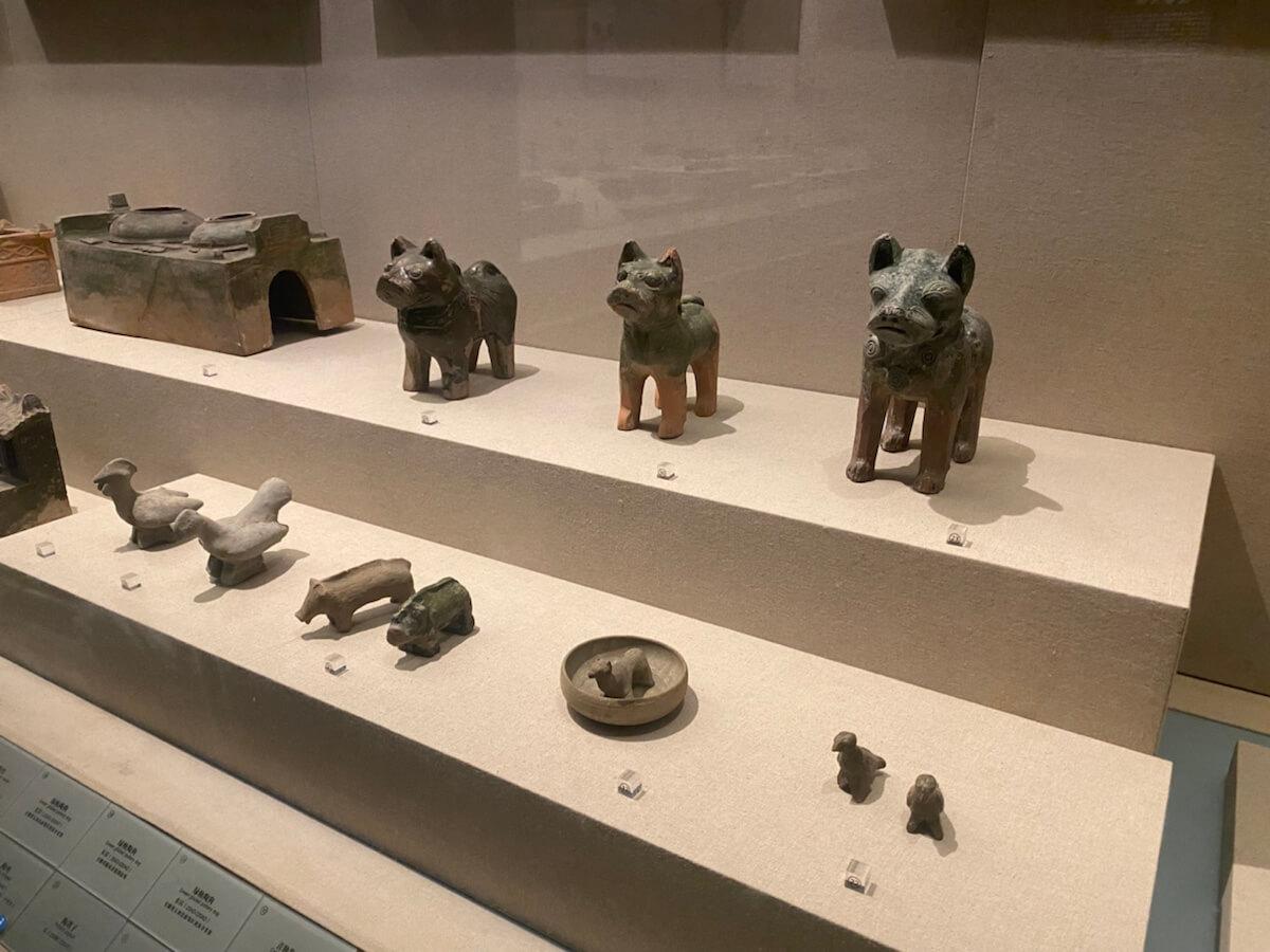 安徽博物院探寻国家宝藏。
